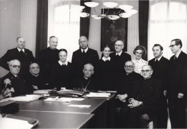 Opening of the beatification process in the diocese of Trier on February 10, 1975